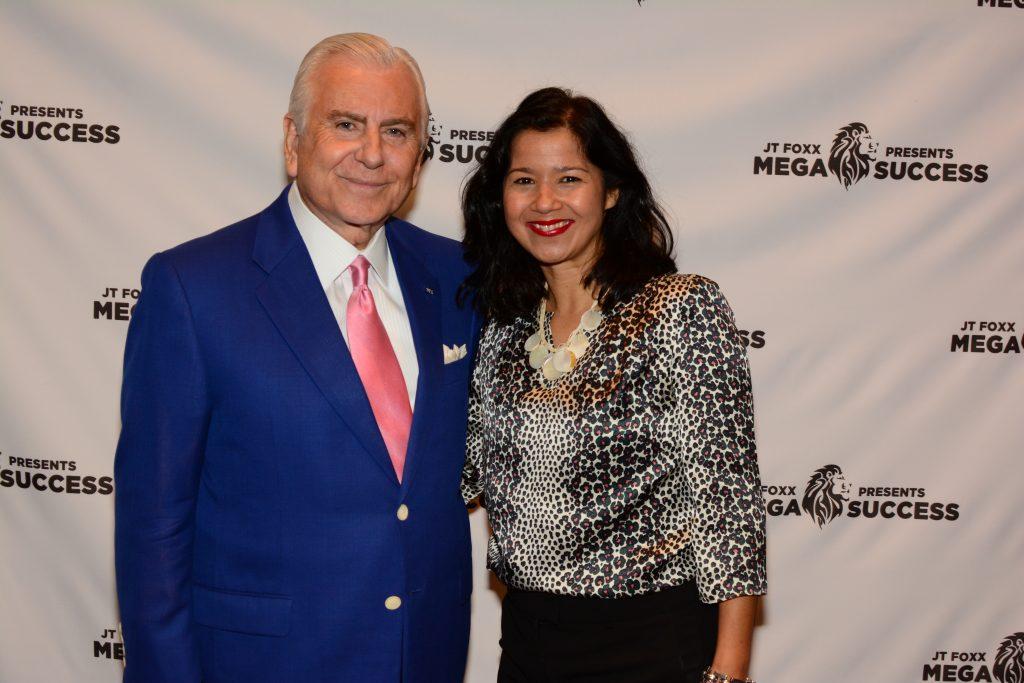 Sandra Fisser with Nido Qubein, businessman & President of High Point University (NC)