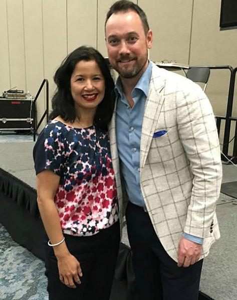 Sandra Fisser and High Performance mentor Todd Herman